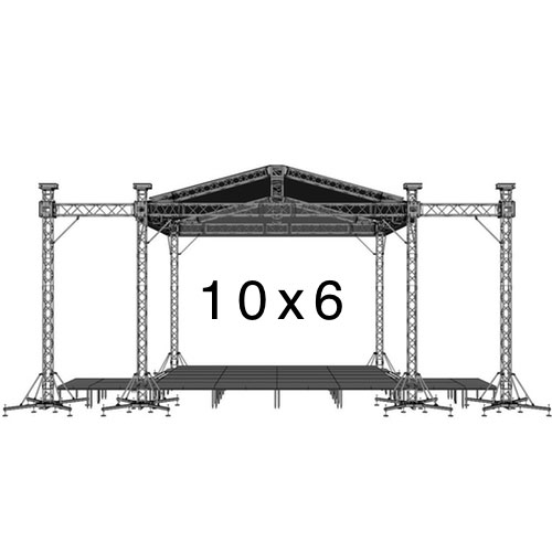 10х6 - Уличная сцена 10 на 6 метров