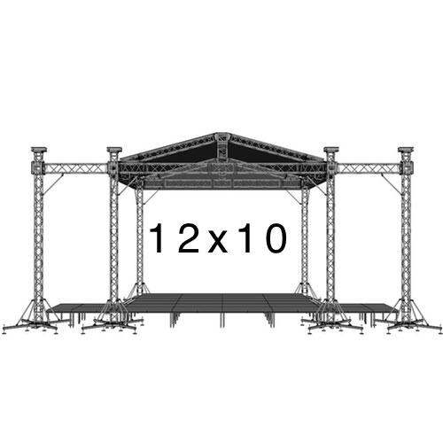12х10 - Уличная сцена 12 на 10 метров